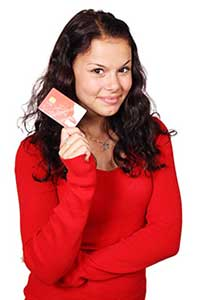 Look for credit cards for bad credit