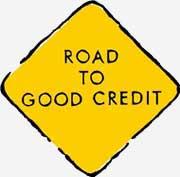 Street sign: Importance of credit repair.
